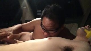 アニメ声の男子が車内で乳首クリップ責め&亀頭責めで悶絶絶頂射精プレイVol4