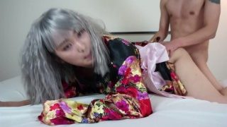 Kinky Kimono Japanese Cosplay Teen Sucks & Fucks for a Facial – TokyoDiary