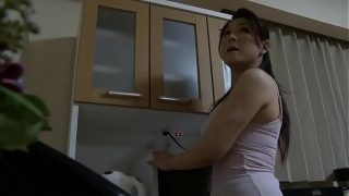 Japanese mom saw my hard dick